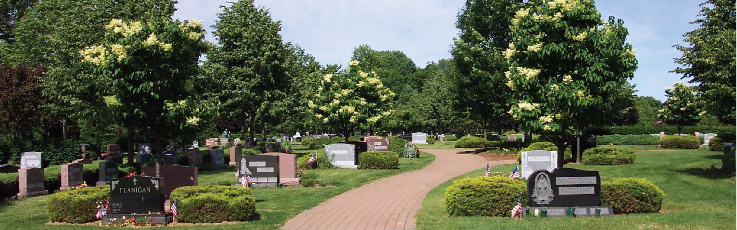 Traditional burial Garden Section